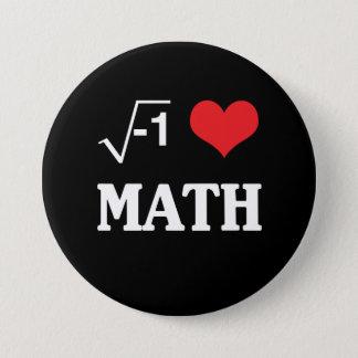 I Love Math Button