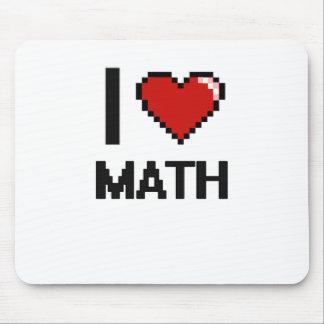 I Love Math Digital Design Mouse Pad