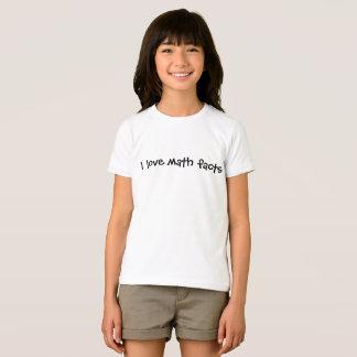 I love math facts T-Shirt