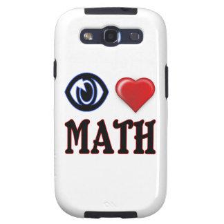 I Love Math Galaxy S3 Cases