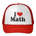I Love Math Hat