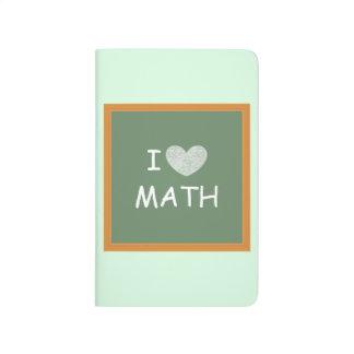 I Love Math Journal