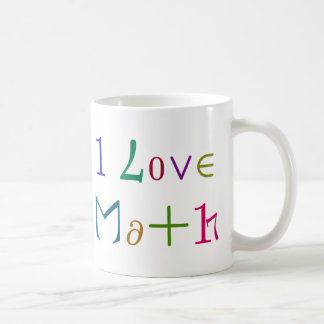 I Love Math Mug