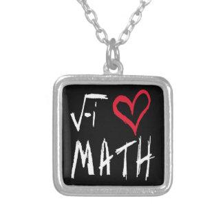 I Love Math Necklace