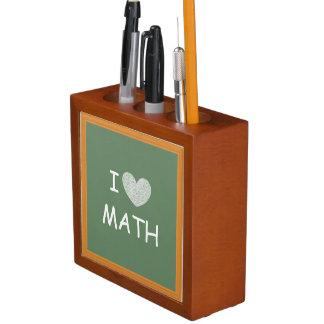 I Love Math Pencil/Pen Holder