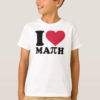 I love math Pi T-Shirt