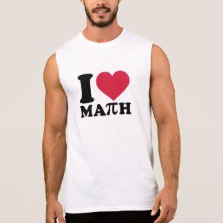 I love math Pi Sleeveless Shirts