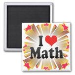 I Love Math Refrigerator Magnets