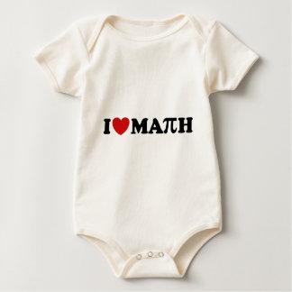 I Love Math Romper
