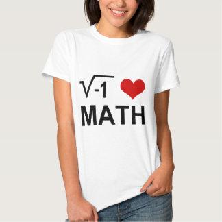 I love MATH! Shirt