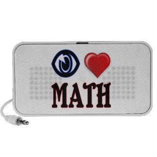 I Love Math Speaker