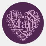 I Love Math Sticker