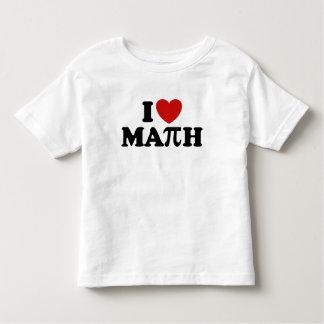 I Love Math Toddler T-shirt