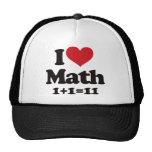 I Love Math! Trucker Hat
