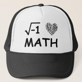 I love math trucker hat