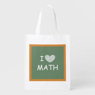 I Love Math Market Tote