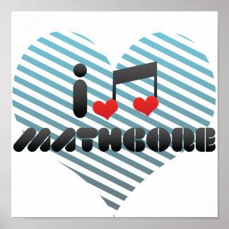 I Love Mathcore Poster
