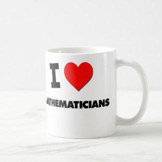 I Love Mathematicians Coffee Mug