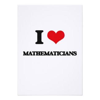 I love Mathematicians Card