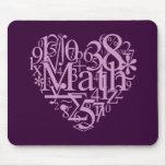 I Love MathMousepad Mouse Pads