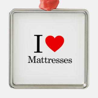 I Love Mattresses Christmas Ornaments