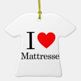I Love Mattresses Christmas Tree Ornaments