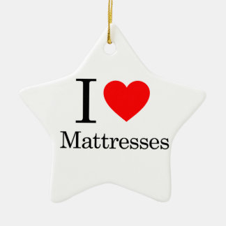 I Love Mattresses Christmas Tree Ornament