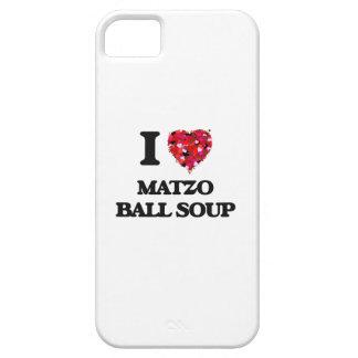 I love Matzo Ball Soup iPhone 5 Cases