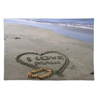 I love Maui Cloth Placemat