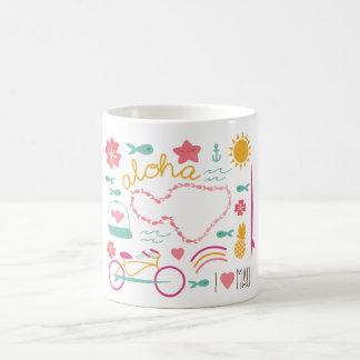 """""""I love Maui"""" Mug """"Aloha"""""""