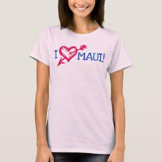 """I LOVE MAUI!""  WAY COOL T-SHIRT"