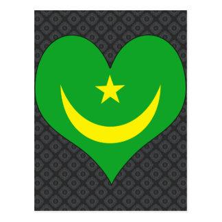 I Love Mauritania Postcard