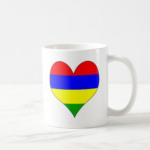 I Love Mauritius Mugs