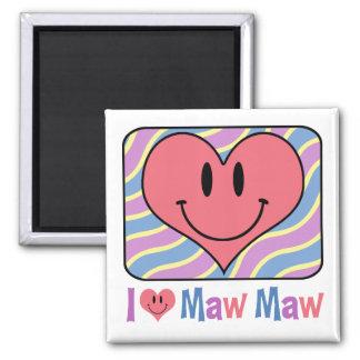 I Love Maw Maw Magnet