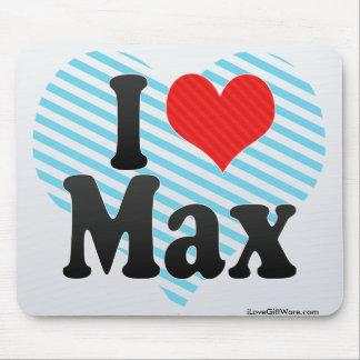 I Love Max Mouse Pad