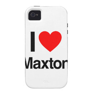 i love maxton vibe iPhone 4 cover