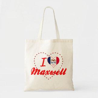 I Love Maxwell Iowa Tote Bag