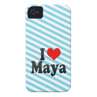 I love Maya Case-Mate iPhone 4 Cases