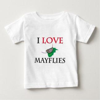 I Love Mayflies T Shirt