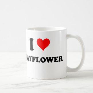 I Love Mayflower Massachusetts Coffee Mug