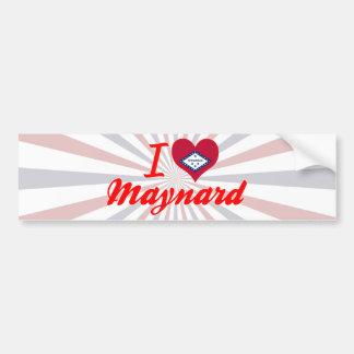 I Love Maynard, Arkansas Bumper Stickers