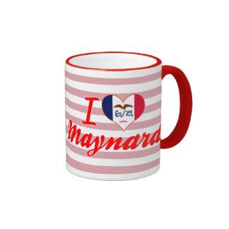 I Love Maynard, Iowa Coffee Mug