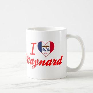 I Love Maynard, Iowa Mug