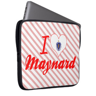 I Love Maynard, Massachusetts Computer Sleeves