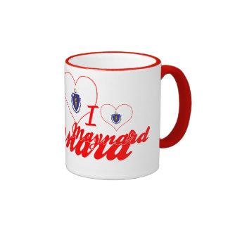 I Love Maynard, Massachusetts Coffee Mugs