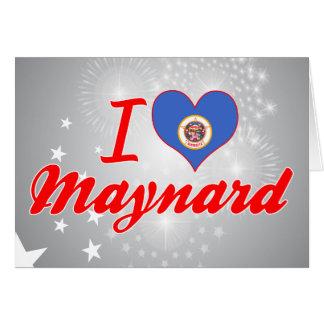 I Love Maynard, Minnesota Cards
