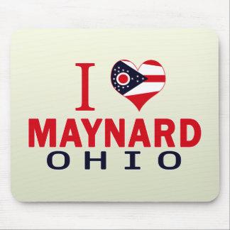 I love Maynard, Ohio Mouse Pads