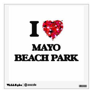 I love Mayo Beach Park Maryland Wall Decal
