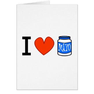 I Love Mayo! Greeting Cards