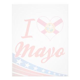 I Love Mayo, Florida Custom Letterhead